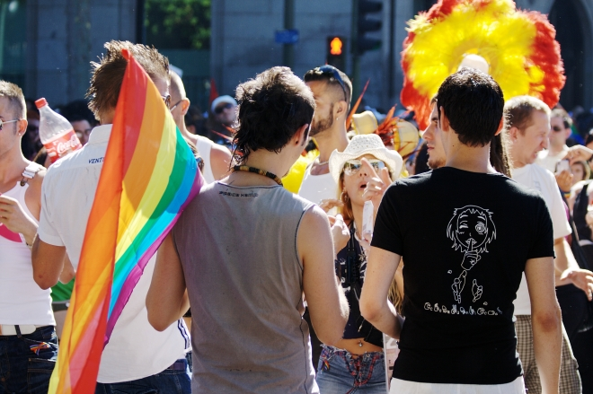 LGBT pride parade in Madrid (Spain) 2008
